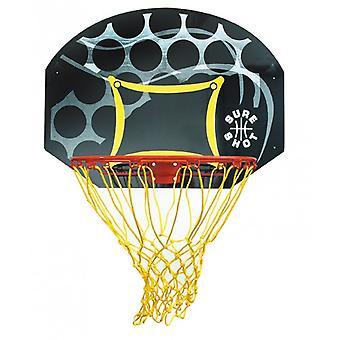 بالتأكيد النار جونيور كرة السلة اللوح الخلفي وحلقة -- الجدار محمولة