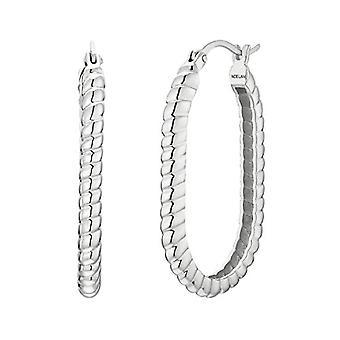 NOELANI Silver Hoop Earrings 925(6)