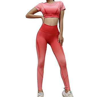 Ombre Yoga Seamless Tracksuit For Women