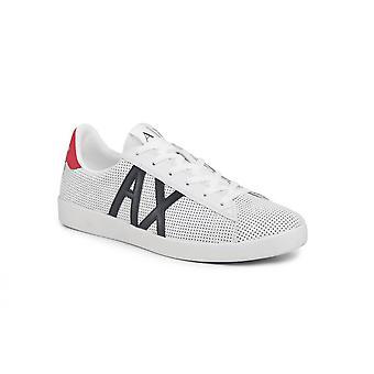 Armani Обменные кроссовки Перфорированная кожа Белый Us21ax12 Xux016