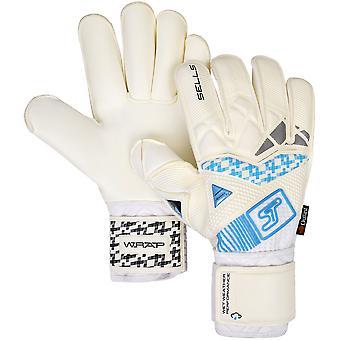 SELLS Wrap Aqua Ultimate Goalkeeper Gloves Size