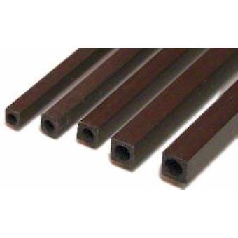 4.0x2.5x1000 de tubo (cuadrado) de fibra de carbono