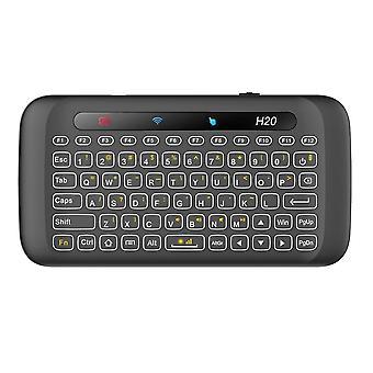 Dobíjecí, podsvícení Mini klávesnice Touchpad pro pc, TV box, mobilní telefon