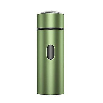 الأخضر المنزل السفر المحمولة الرجال الحلاقة الكهربائية الحلاقة اللحية التشذيب usb az19136