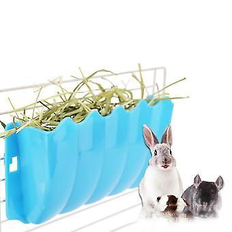 Uusi pieni eläin ulkoinen ruoho-kiinteä pieni lemmikkieläinten ruoho korit ruohoallas sininen ES4887