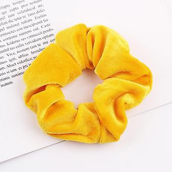 fløyel scrunchies &elastisk hårbånd tiara hode kjole