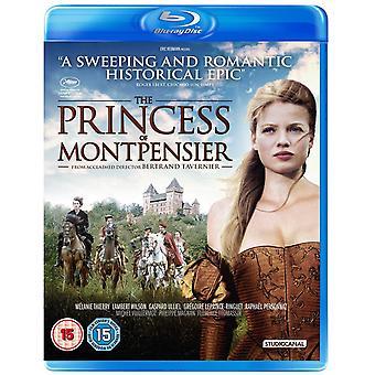 Prinsessan av Montpensier Blu-ray