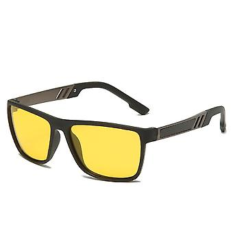 Night Vision Tr90 Sunglasses For Uv400 Protection Night Driving