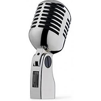 Stand style dynamique de Stagg 50 microphone monté pour prise de voix