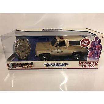 Stranger Things Hoppers Chevrolet Blazer 1:24 Échelle Jada 31111