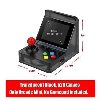 Newzuidid retro arcade mini 32bit 520 games handheld game console portable retro video game player box machine children gifts