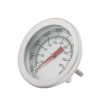 Stainless Steel Thermometer Bbq Smoker Grill Temperature Gauge