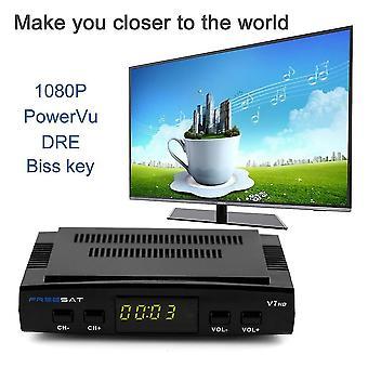 Freesat V7 Dvb-s2 Hd 1080p Plně výkonný satelitní přijímač satelitní dekodér