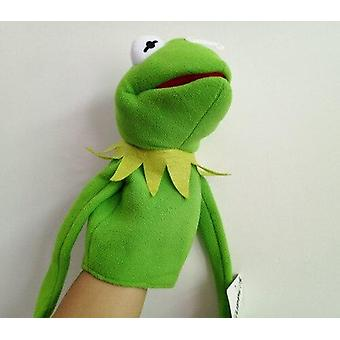 Frog Plush Hand Puppet 40cm|Doll Story Doll Puzzle Early Childhood Gift