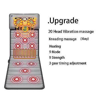 Cervical massager neck waist back multifunctional massage cushion body massage chair blanket