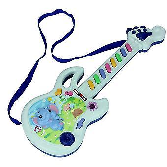 Elektrisch gitaarspeeltje met meerdere muzikale speelmodi