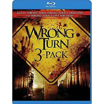 Wrong Turn 3Pak [BLU-RAY] USA import