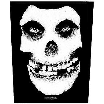 Misfits ryggplåster: ansiktsskalle