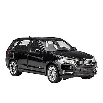 Toy cars 1:24 bmw x5 suv car die casting alloy car model ornaments collection of children's toys black