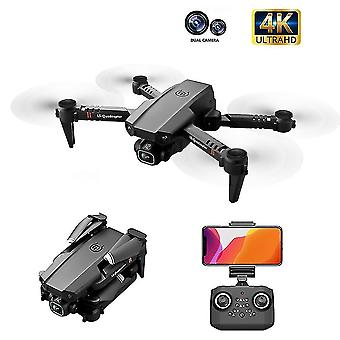 Remote control helicopters 2020 xt6 drone dual lens 4k high definition aerial photography optical flow fixed height rc