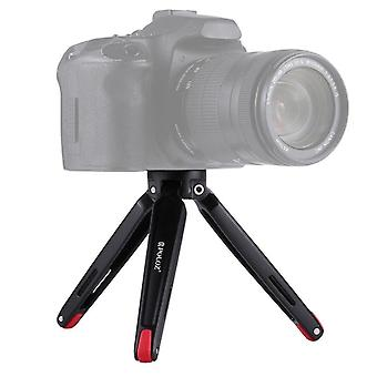 Camera flash accessories pocket mini metal desktop tripod mount with 1/4 inch to 3/8 inch thread adapter screw for dslr