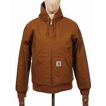 Carhartt WIP aktiivinen orgaaninen takki - Hamilton Brown