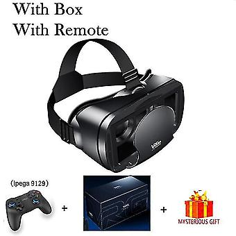 Realidad virtual 3d vr auriculares gafas inteligentes casco para teléfonos inteligentes teléfono celular móvil 7 pulgadas lentes