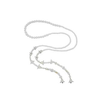 Necklace Bloom-beads White 130cm 46411 46411 46411