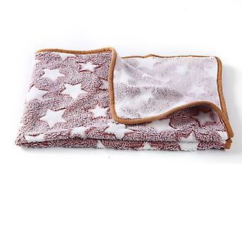 Morbido e soffice pet blanket cartoon pattern caldo e confortevole cat blanket dog blanket pet supplies