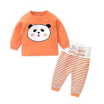 Baby Underwear Set pijama Qiu Yi Calças Longas