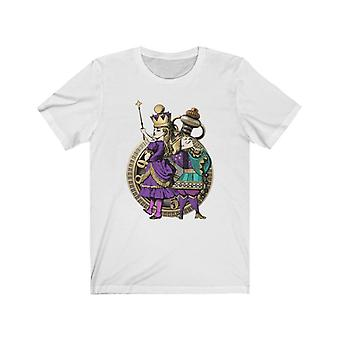 Graphic tee - alice in wonderland gifts #22 purple series | gift idea, gifts for women, t shirts for women, custom shirt, graphic tees for women