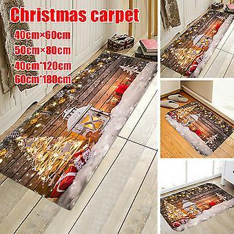 Christmas Welcome Doormat Indoor Carpet Bathroom Home Room Xmas Decor