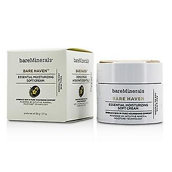 Bareminerals Bare Haven Essential Moisturizing Soft Cream - Normal To Dry Skin Types - 50g/1.7oz