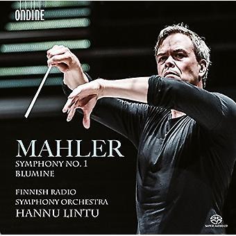 Mahler / Finnish Radio Symphony Orchestra / Lintu - Symphony No. 1 - Blumine [SACD] USA import