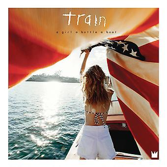Tåg - flicka en flaska båt [Vinyl] USA import