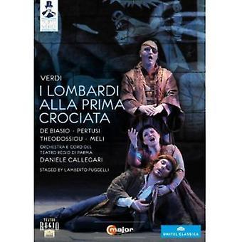 G. Verdi - I Lombardi Alla Prima Crociata [DVD] USA import