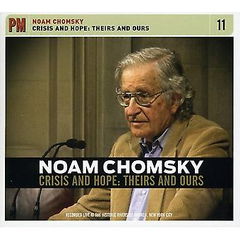 Noam Chomsky - Crisis & Hope: Theirs & Ours [CD] USA import