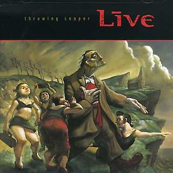 Live - Throwing Copper [CD] USA import