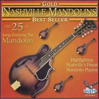 Mandolinas de Nashville - oro 25 canciones [CD] USA importación