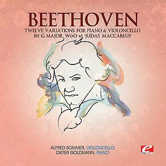 L.V. Beethoven - Beethoven: 12 variaties voor Piano & cello in G majeur, Woo 45 'Judas Makkabeüs' [CD] USA import