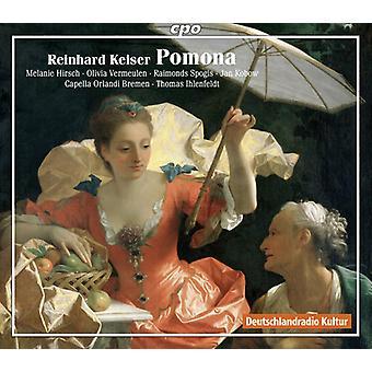 Keiser / Ihlenfeldt / Capella Orlandi Bremen - importation USA Pomona [CD]