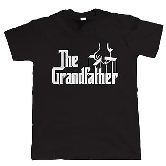 The Grandfather Funny Mens T Shirt, Gift for Grandad Grampa Birthday