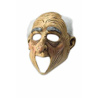Ruchome maska usta Deluxe pasuje dziadek Starzec