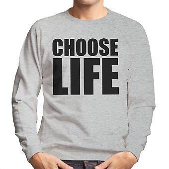 Trainspotting T2 vælger livet store mænds Sweatshirt