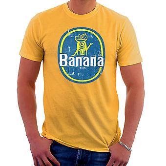 BANANAAAAAAA sługusów Banana naklejki Stuart Men's T-Shirt