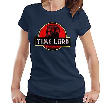 Dr die Jurassic Park tijd heer Women's T-Shirt