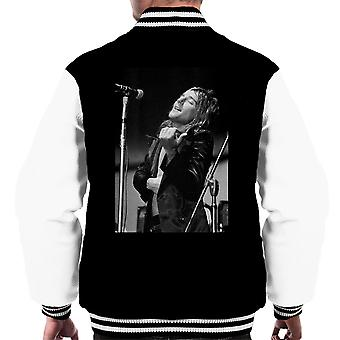 Faces Rod Stewart Southern Illinois University 1971 Men's Varsity Jacket