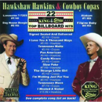 Hawkshaw Hawkins - 22 King & Starday Top Billboard Hits [CD] USA import