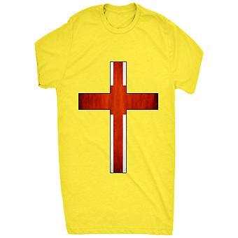 Renowned England Flag Inside Cross