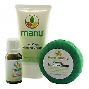 Manuka Naturals Foot and Nail Fungus Combo - Soap, Oil & Cream